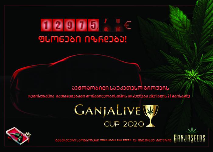 «GanjaLiveCup 2020» საპრიზო ფონდი გაიზარდა!