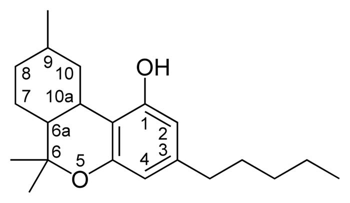ტეტრაჰიდროკანაბინოლი (THC)